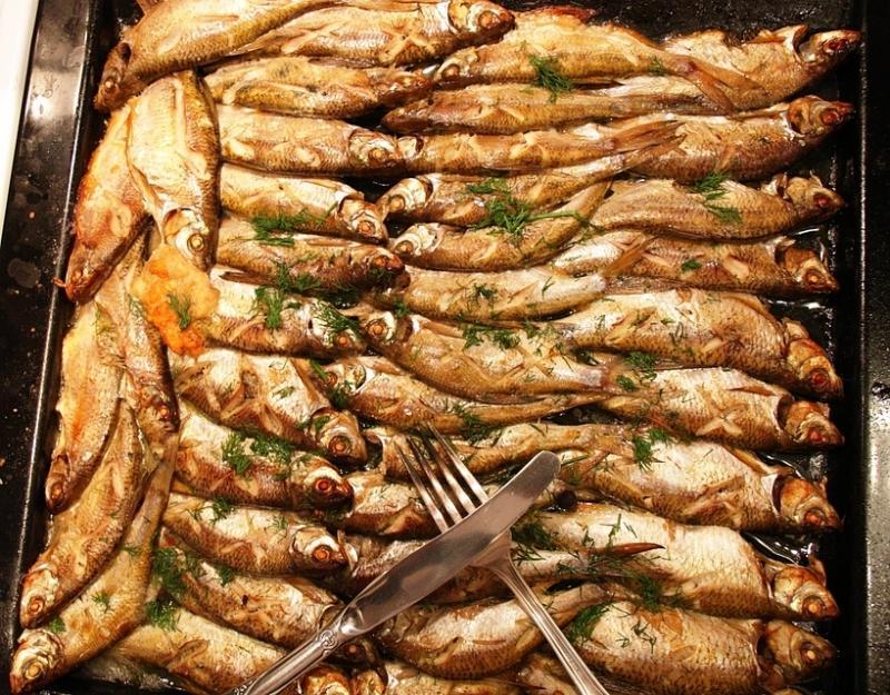 Рыба из духовки