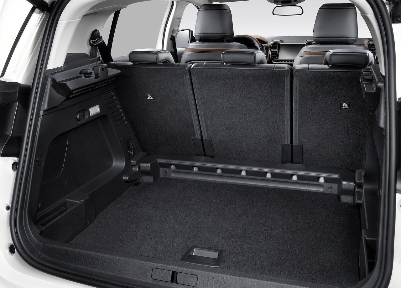 Citroen C5 Aircross багажник